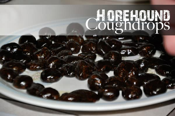 Horehound Cough Drops