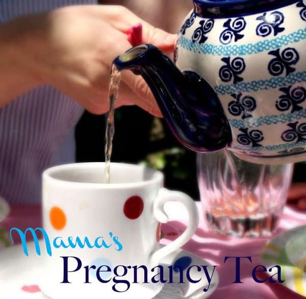 Mama's Pregnancy Tea @jasminejlucero