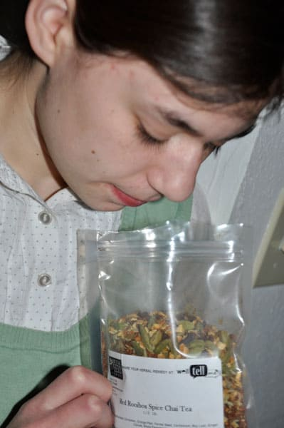 Smelling Chai @jasminejlucero