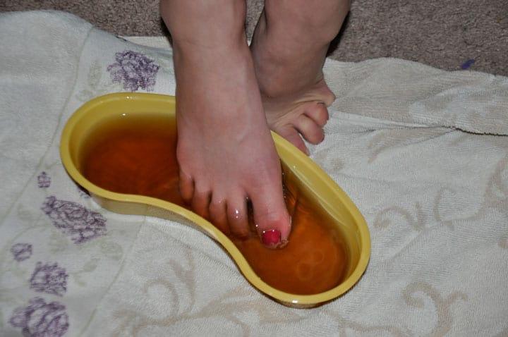 Comfrey Foot Soak @jasminejlucero