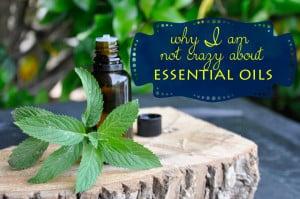 Why I am not crazy about essential oils  @jasminejlucero