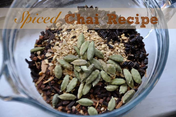 Spiced Chai Recipe @jasminejlucero