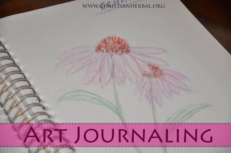 Art Journaling Herbs