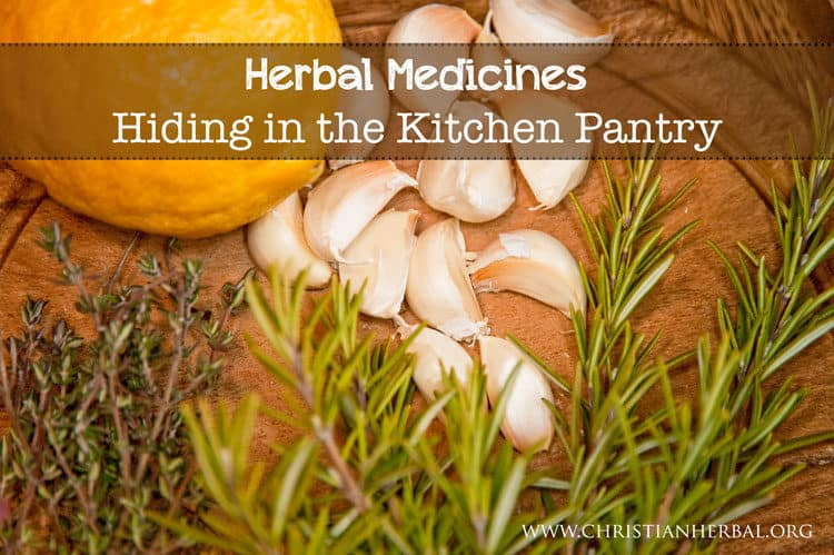Herbal Medicines Hiding in the Kitchen Pantry