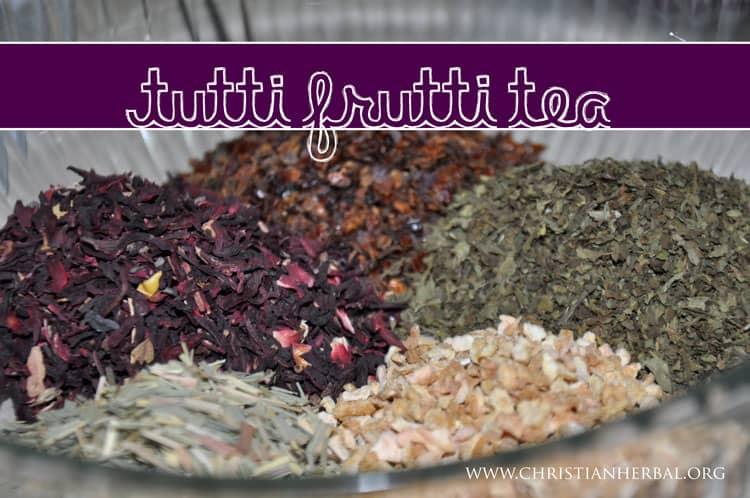 Tutti Frutti Tea