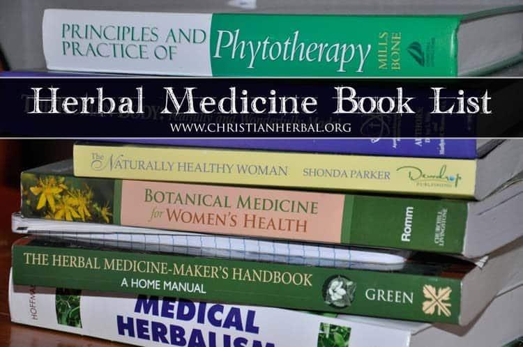 Herbal Medicine Book List